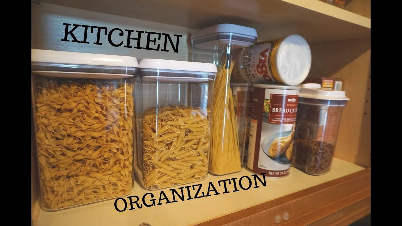 Kitchen Organization Haul | Home Goods & The Container Store | How I  Organize