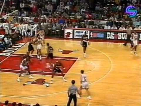 Michael Jordan 1991-92: 31 points vs. Portland Trail Blazers.