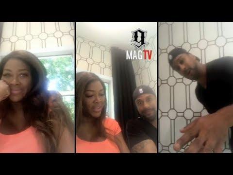 RHOA: Kenya Moore & Husband Marc Debate Coed Baby Shower Or Nah! 👶