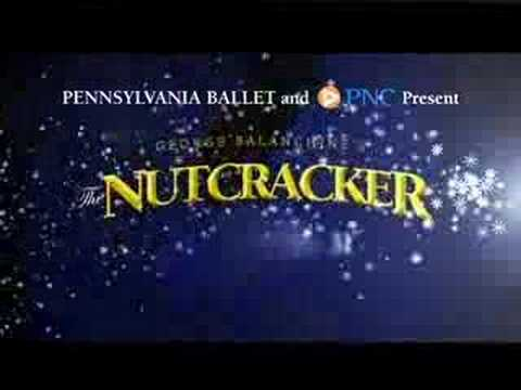 Pennsylvania Ballet Nutcracker Trailer - Holidays 2007 Video