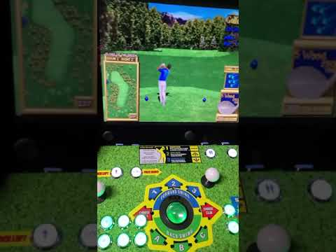 arcade1up golden tee upgrade 12000 games from J M Arcades