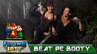 Beat Pe Booty - A Flying Jatt | Tiger S | Jacqueline F | Chipmunk Version