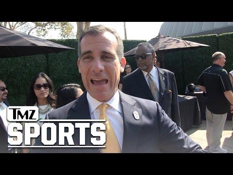 L.A. Mayor Eric Garcetti- Happy Kobe Day...Here's How to Celebrate! | TMZ Sports