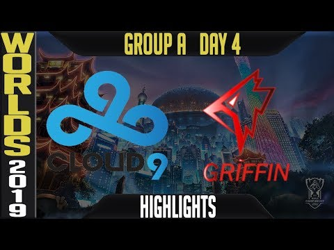 C9 vs GRF Highlights Game 1 | Worlds 2019 Group A Day 4 | Cloud9 vs Griffin