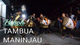 Amazing, kesenian tradisional minangkabau tambua tansa   maninjau