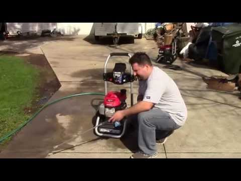 Homelite 2700 Psi Pressure Washer Review Youtube