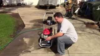 Homelite 2700 psi pressure washer review