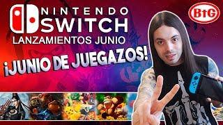 ¡¡JUNIO LLENO DE JUEGAZOS PARA SWITCH!! | Lanzamientos JUNIO Nintendo Switch