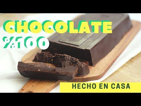 Recetas con chocolate 100 cacao