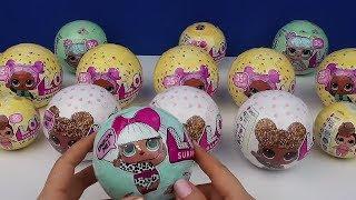 LOL Sürpriz Gilitter Seri Yepyeni Özel L.O.L. Yumurtasını Açıp İnceledim Bidünya Oyuncak