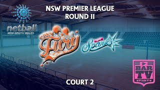 2018 Netball Round 11 - U20s/Opens - Court 2 - GWS Fury v UTS Sparks