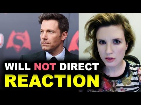 Ben Affleck will NOT direct The Batman REACTION