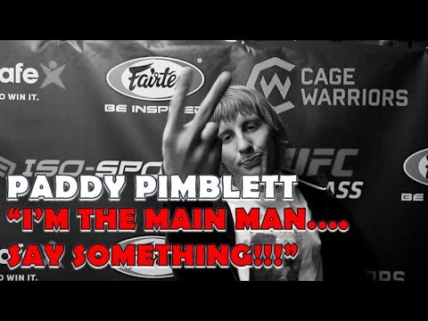 Paddy Pimblett 'I'm The Main Man... Say Something' l Post-Fight Cage Warriors 90 Interview