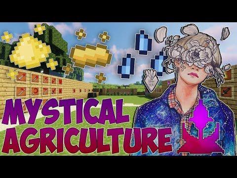 Обзор/Гайд по моду Mystical Agriculture на Майнкрафт версии 1.12.2