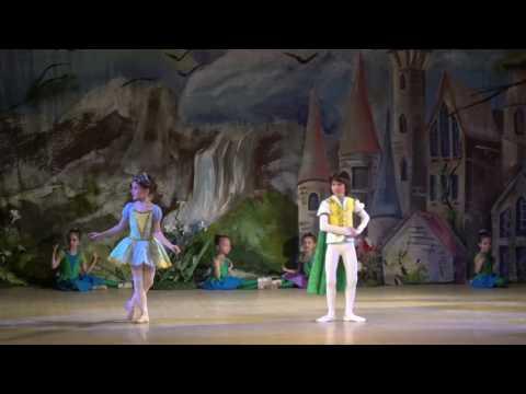 """Детский балет """"Дюймовочка"""". Дюймовочка и Король эльфов"""