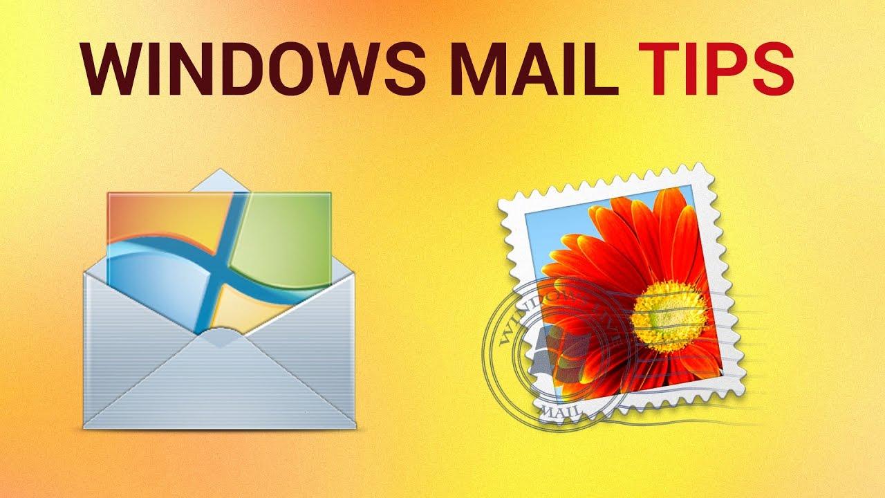 Where is Windows Mailin Windows 7  Short Using Tips
