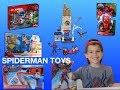 Spiderman Toys Compilation with Lorenzo Toys and Games