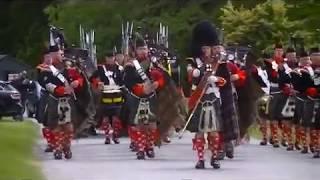 Atholl Highlanders Parade, Blair Castle, Scotland