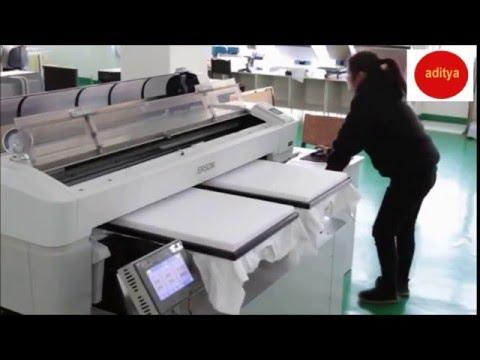 High Speed T Shirt Printer Youtube