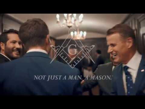 Not just a man. A Mason.