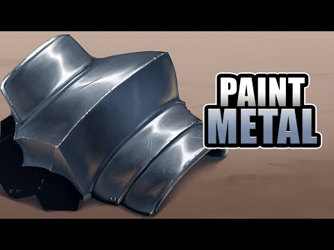 How To Paint [METAL] - Digital Photoshop Tutorial