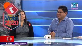 Voto 2020: Frente Amplio y Somos Perú sobre el nuevo Congreso