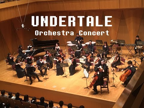 UNDERTALE Orchestra Concert - 'Hopes and Dreams,' 'SAVE the World,'  and 'His Theme.'