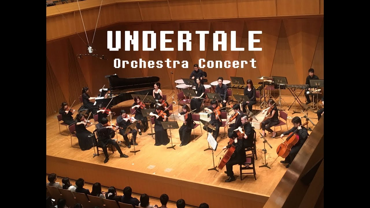 """UNDERTALE Orchestra Concert - """"Hopes and Dreams,"""" """"SAVE the World,""""  and """"His Theme."""""""
