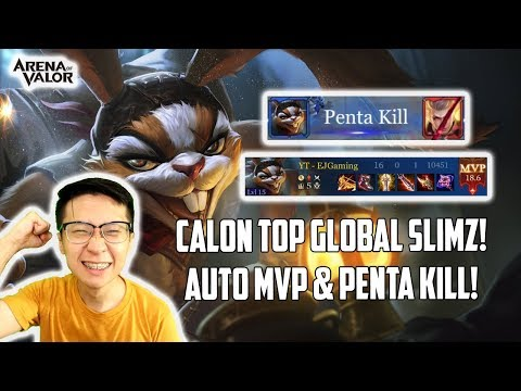 Calon TOP GLOBAL Slimz! Auto MVP & Penta Kill!