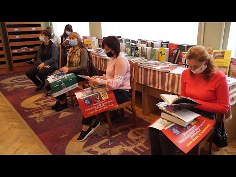 Телеканал НТК: Коломийська ЦРБ взяла участь у книжковій премії «Еспресо. Вибір читачів 2020»