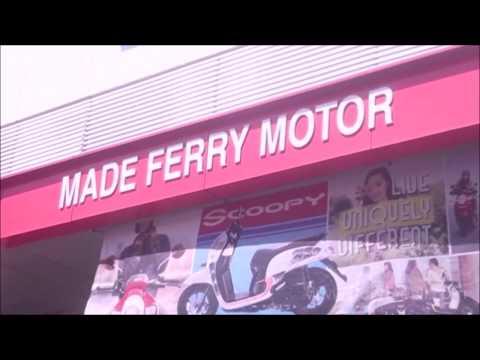 Gedung baru Dealer Honda Made Ferry Motor