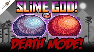 How to Beat Slime God In Death Mode! ||Terraria Calamity Mod B…