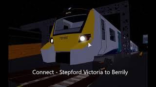 Trains At New Harrow (28/09/19) - Stepford County Railway - Roblox