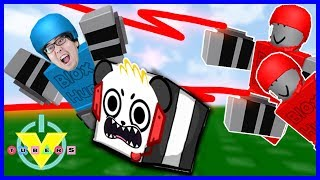 Vtubers Let's Play Roblox Blox hunt with Ryan's Daddy and Combo Panda