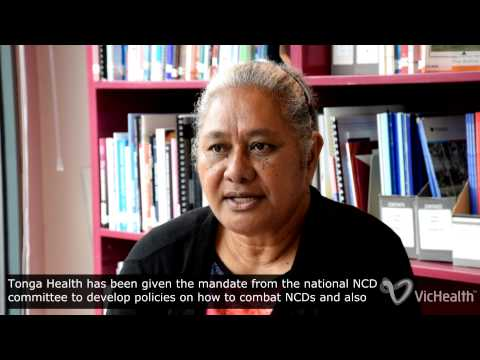 VicHealth interview with Seini Mafi Filiai - CEO Tonga Health Promotion Foundation