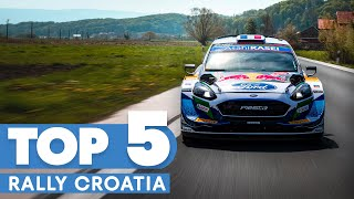 The Most Incredible Moments From Rally Croatia | WRC 2021