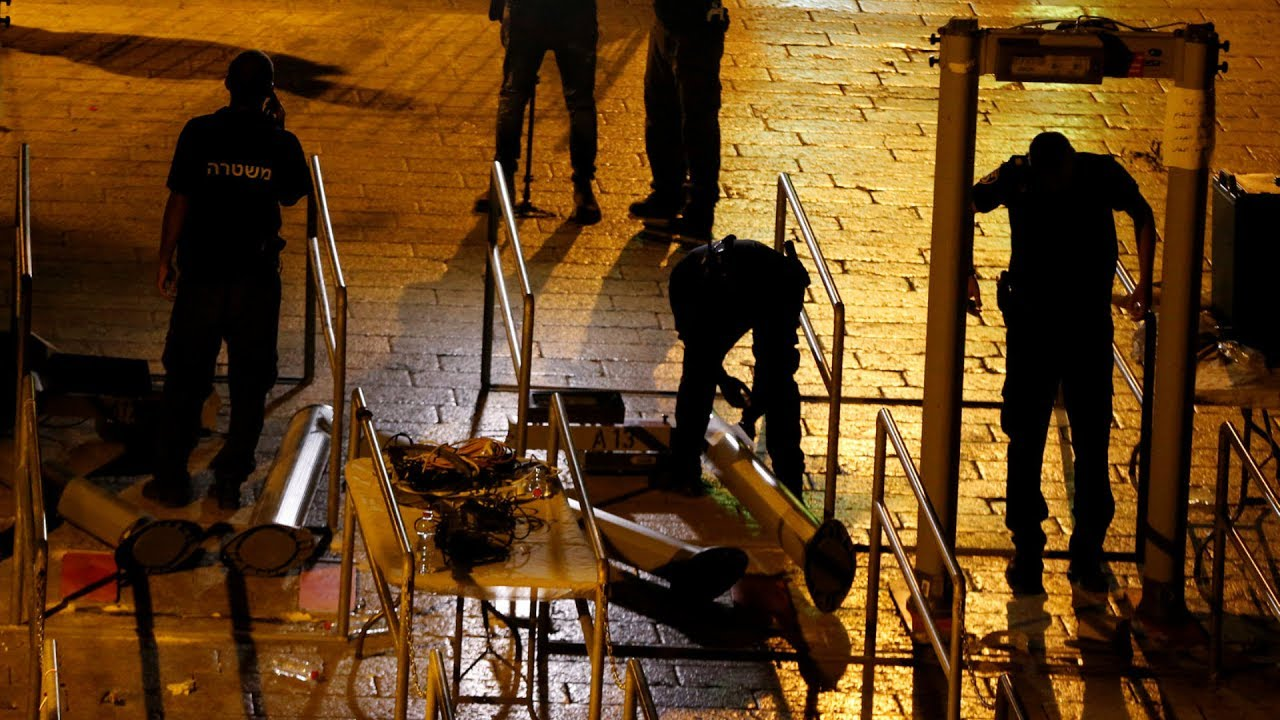 Jew Detector: Israel Removes Flashpoint Holy Site Metal Detectors