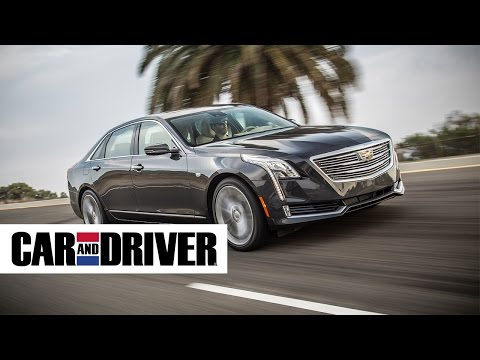 Cadillac CT6 Review in 60 Seconds | Car and Driver