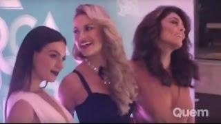 Festa de 'A Força do Querer' reúne elenco em hotel de luxo no Rio
