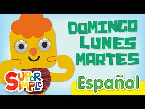 Días De La Semana   Canciones Infantiles   Days Of The Week In Spanish