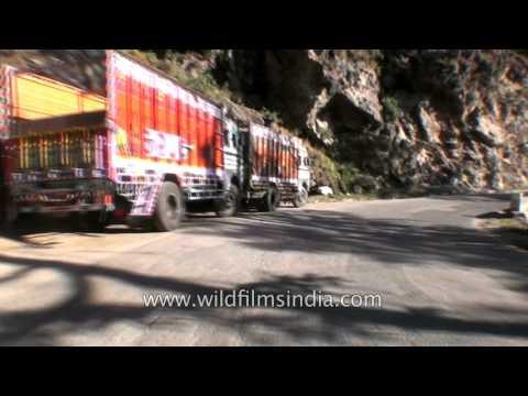 Himalayan Driving from Theog near Shimla to Narkanda in Himachal  Part 5