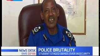 Matiangi and IG Hillary decry police brutality, action will be taken against the Police Officers