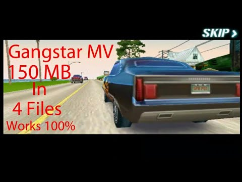Download How To Download Gangstar 2 Highly Compressed 150 MB In 4 Files Works 10000%