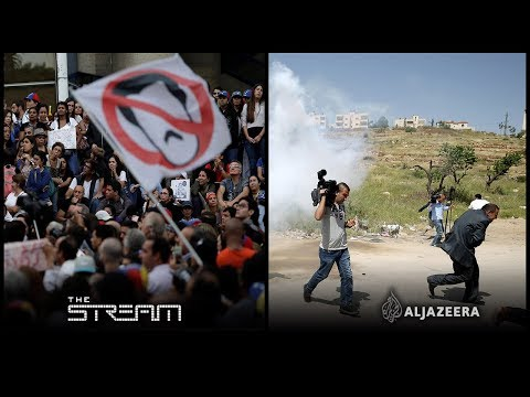 Venezuela at a breaking point and Palestinian journalists si
