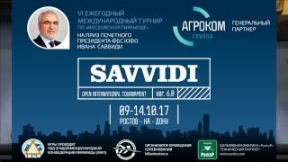 Savvidi 2017 Салтовский Евгений  BLR - RUS  Туманян Шаген