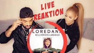 Loredana 💸 MILLIONDOLLARSMILE 💸 (live Reaktion) Lisha&Lou