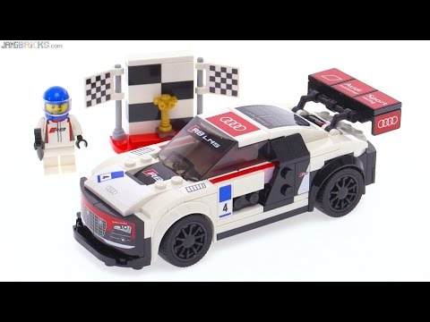 lego speed champions audi r8 lms ultra review 75873 youtube. Black Bedroom Furniture Sets. Home Design Ideas