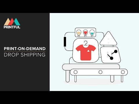 How It Works: Print-On-Demand Drop Shipping