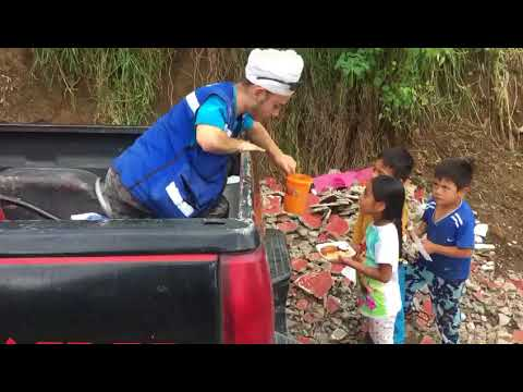 Feeding Kids in Mexico Post-Earthquake
