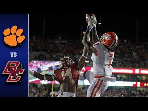 Clemson vs. Boston College Football Highlights (2016)